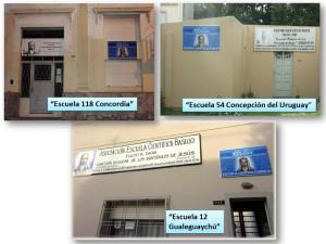 Escuelas 12-54-118 carteles